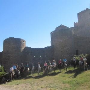 En el Castillo de Loarre